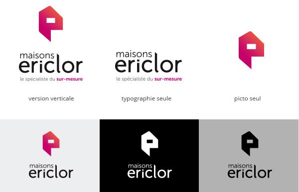 Nouveau logo pour maisons ericlor maisons ericlor for Autoclave pour conserves maison