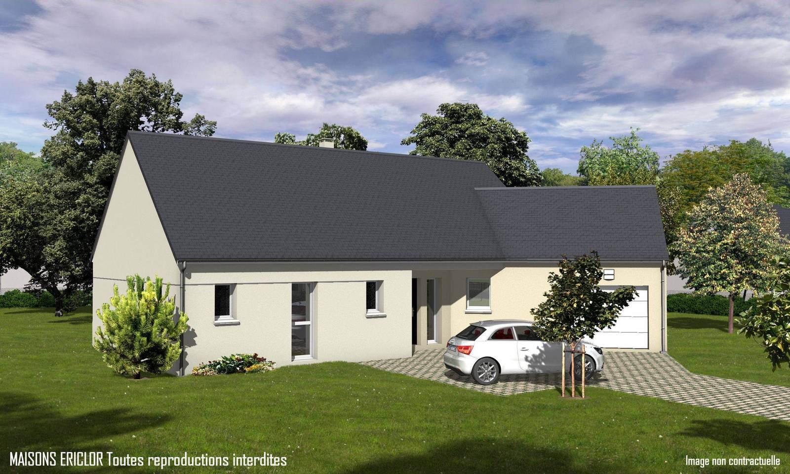 D couvrez les nouvelles perspectives de maisons r alis es for Constructeur maison contemporaine poitiers