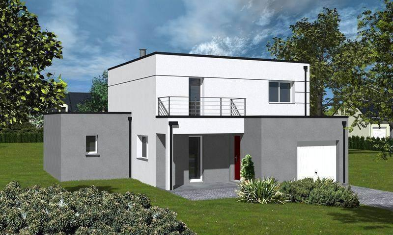 Traditionnel ou contemporain maisons ericlor for Maison moderne 120m2