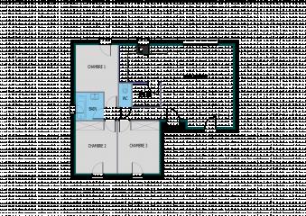 Plan Maison Moderne En T Ooreka 2