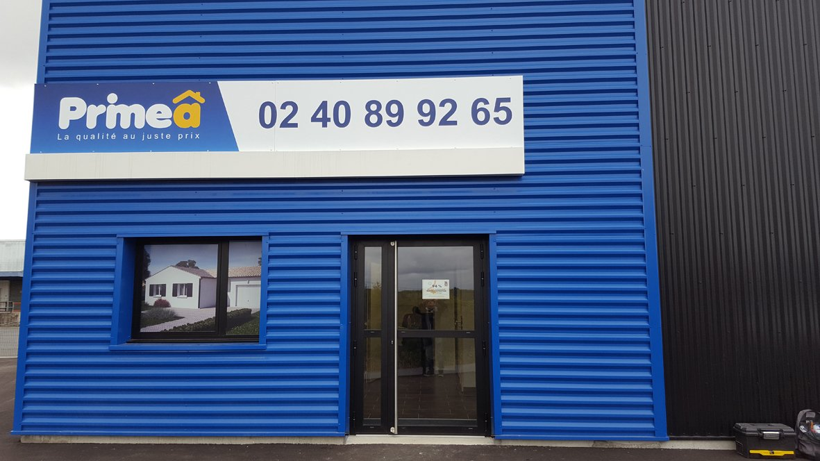 Primeâ inaugure sa nouvelle agence à Vertou en Loire-Atlantique.