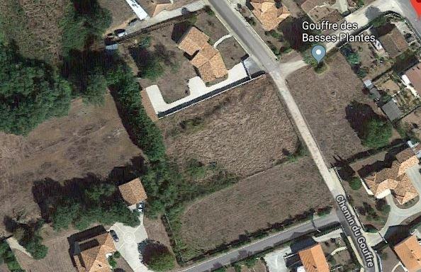Capture Terrain de 2220m² chemin du gouffre Chauvigny.JPG
