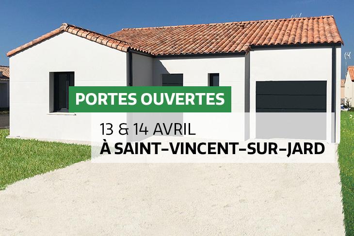 Journée Portes Ouvertes les 13 & 14 avril à St-Vincent-sur-Jard