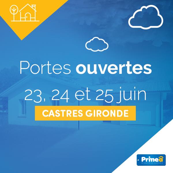 Portes ouvertes à Castres-Gironde les 23, 24 et 25 juin 2017