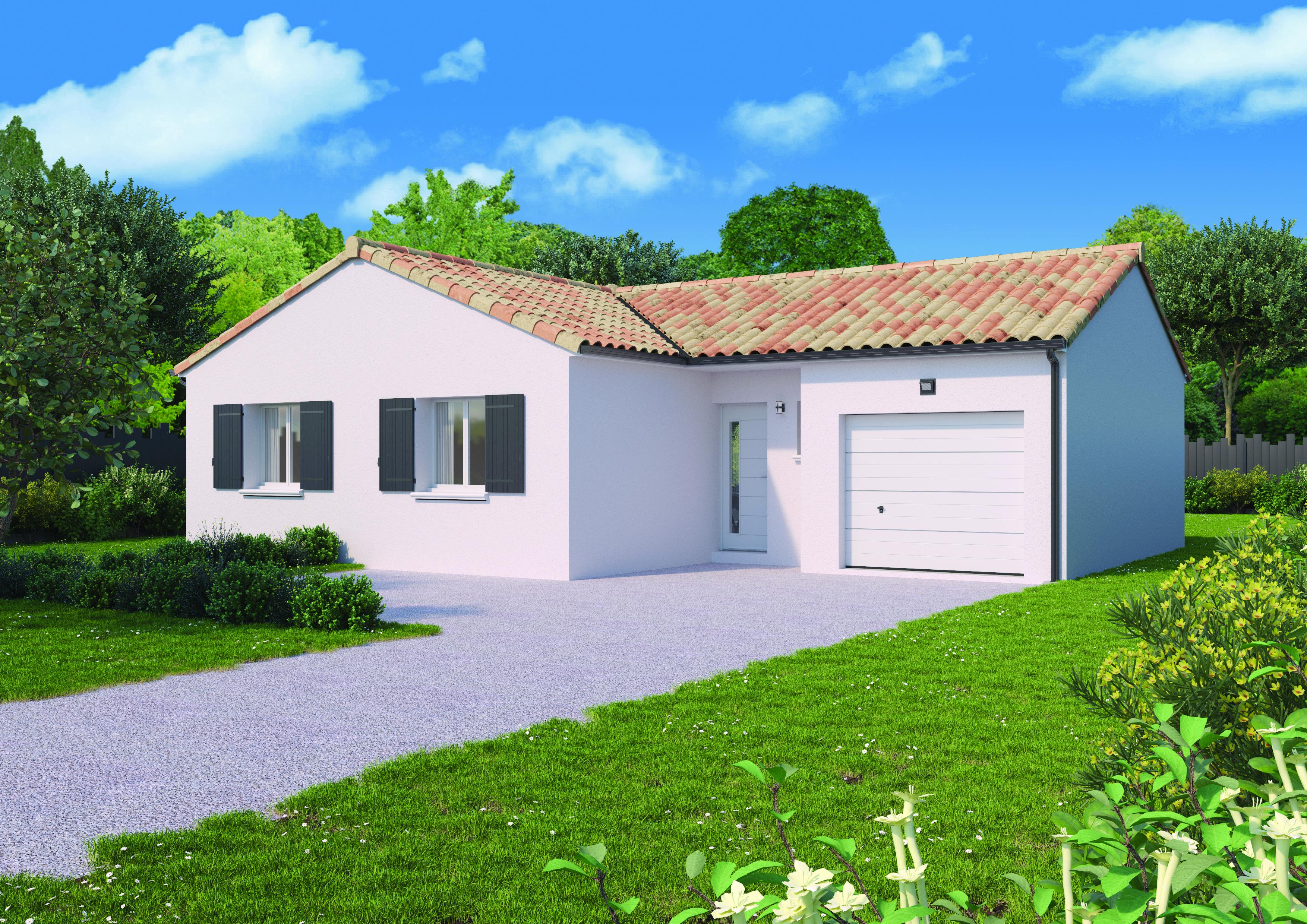 Maison à vendre à Saint-Magne