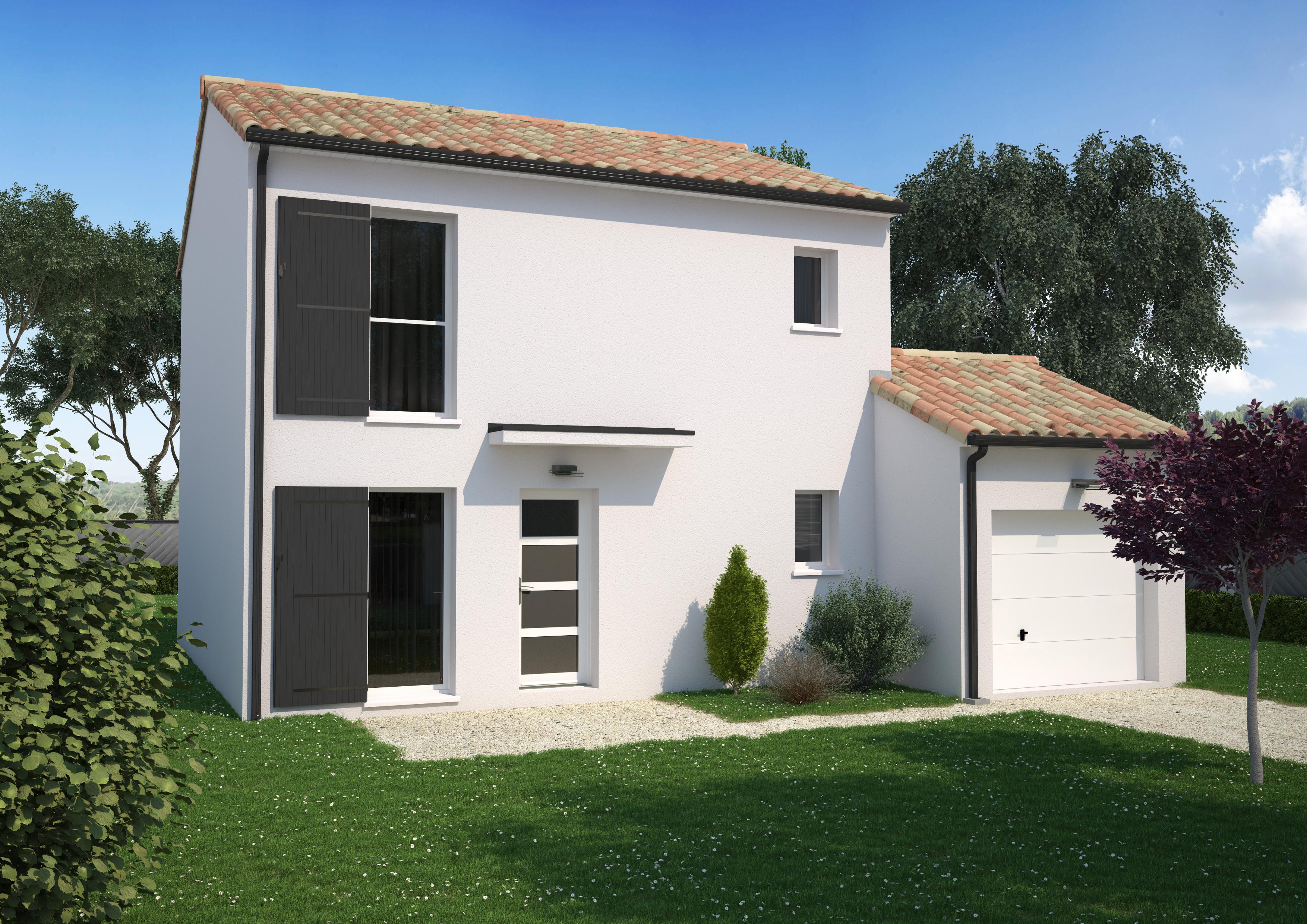 Maison 3 chambres de 89 m²