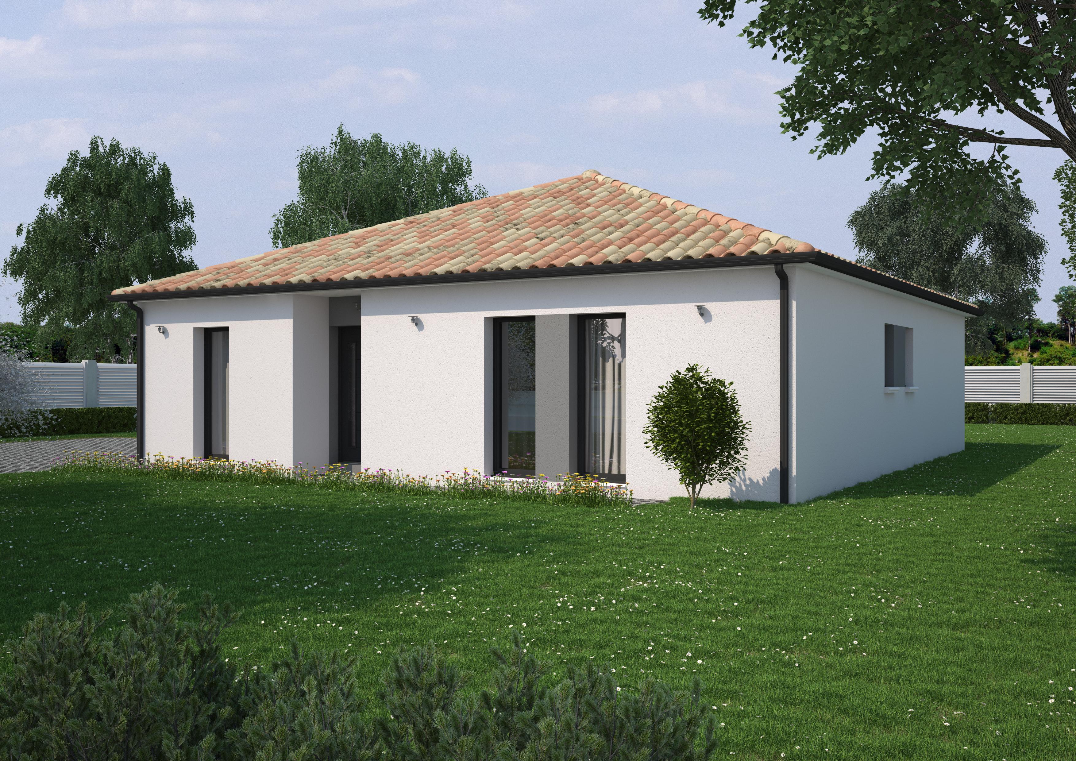 Maison 4 chambres de 106 m²