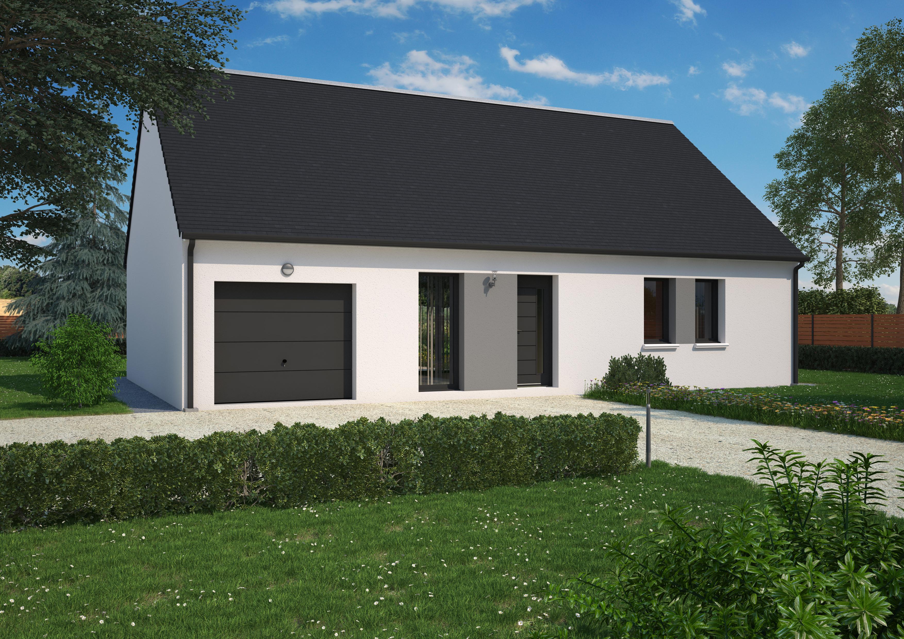 Maison à vendre à Saint-Paterne-Racan