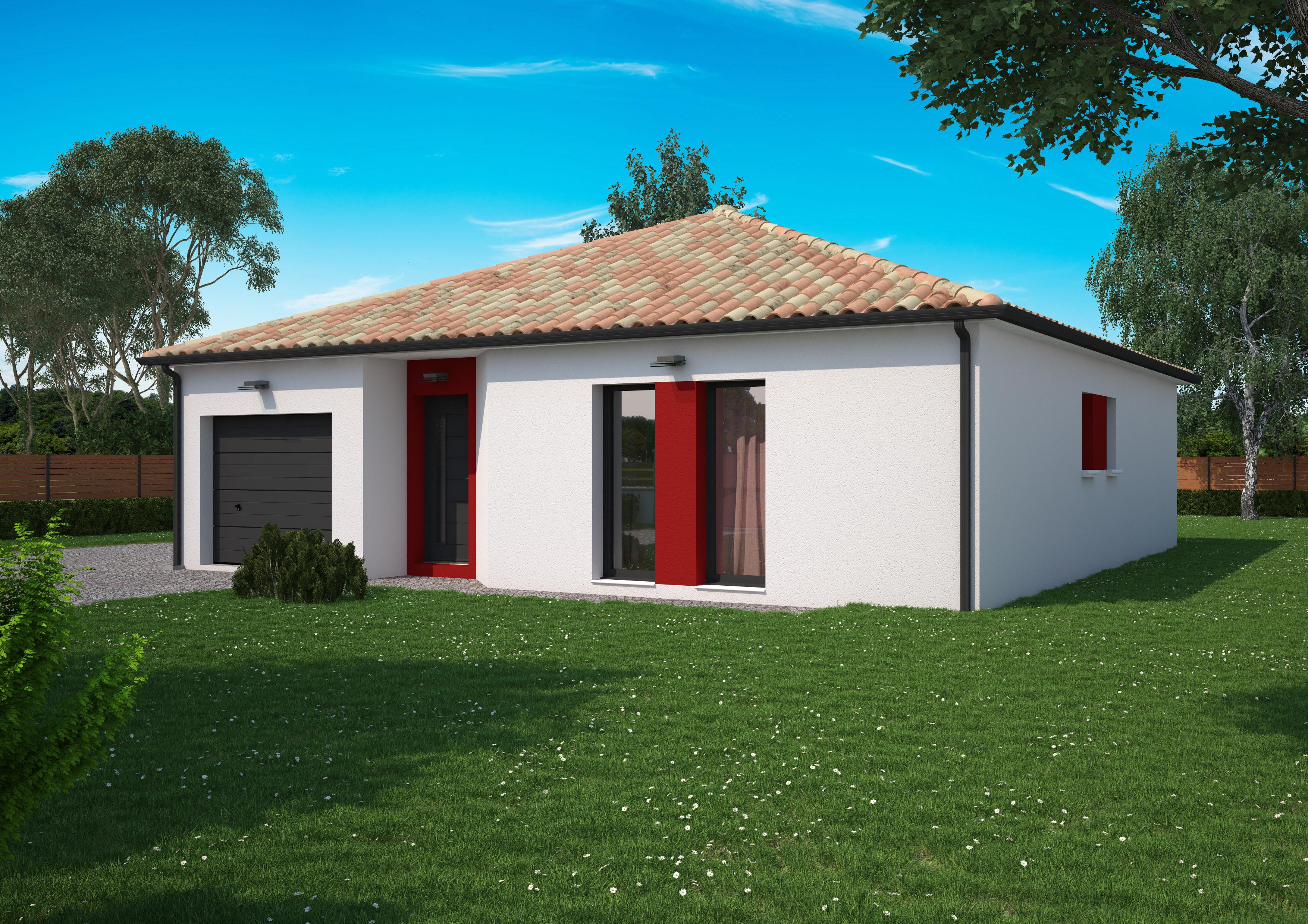 Maison 3 chambres de 91 m²
