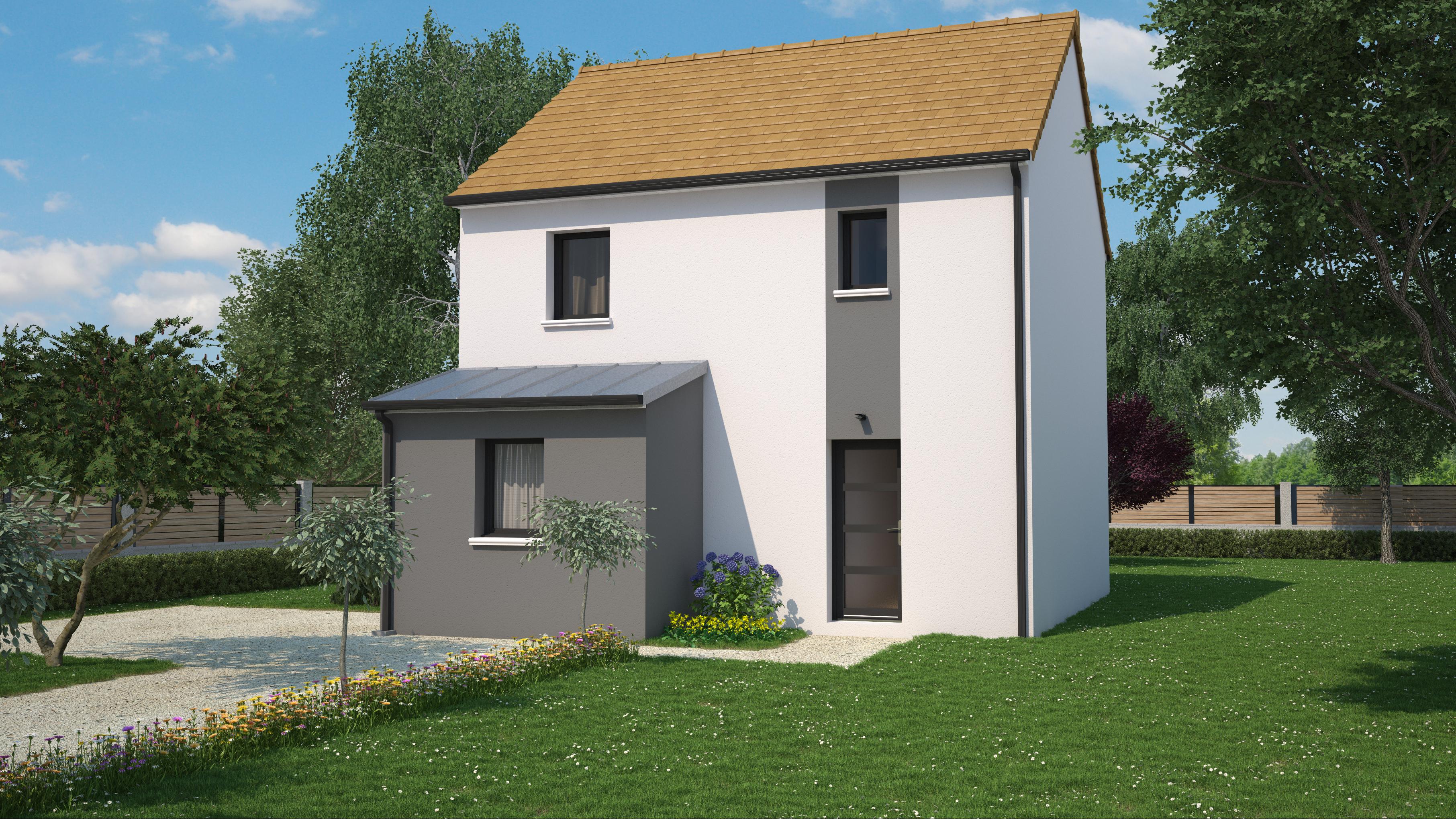 Maison 4 chambres de 87 m²