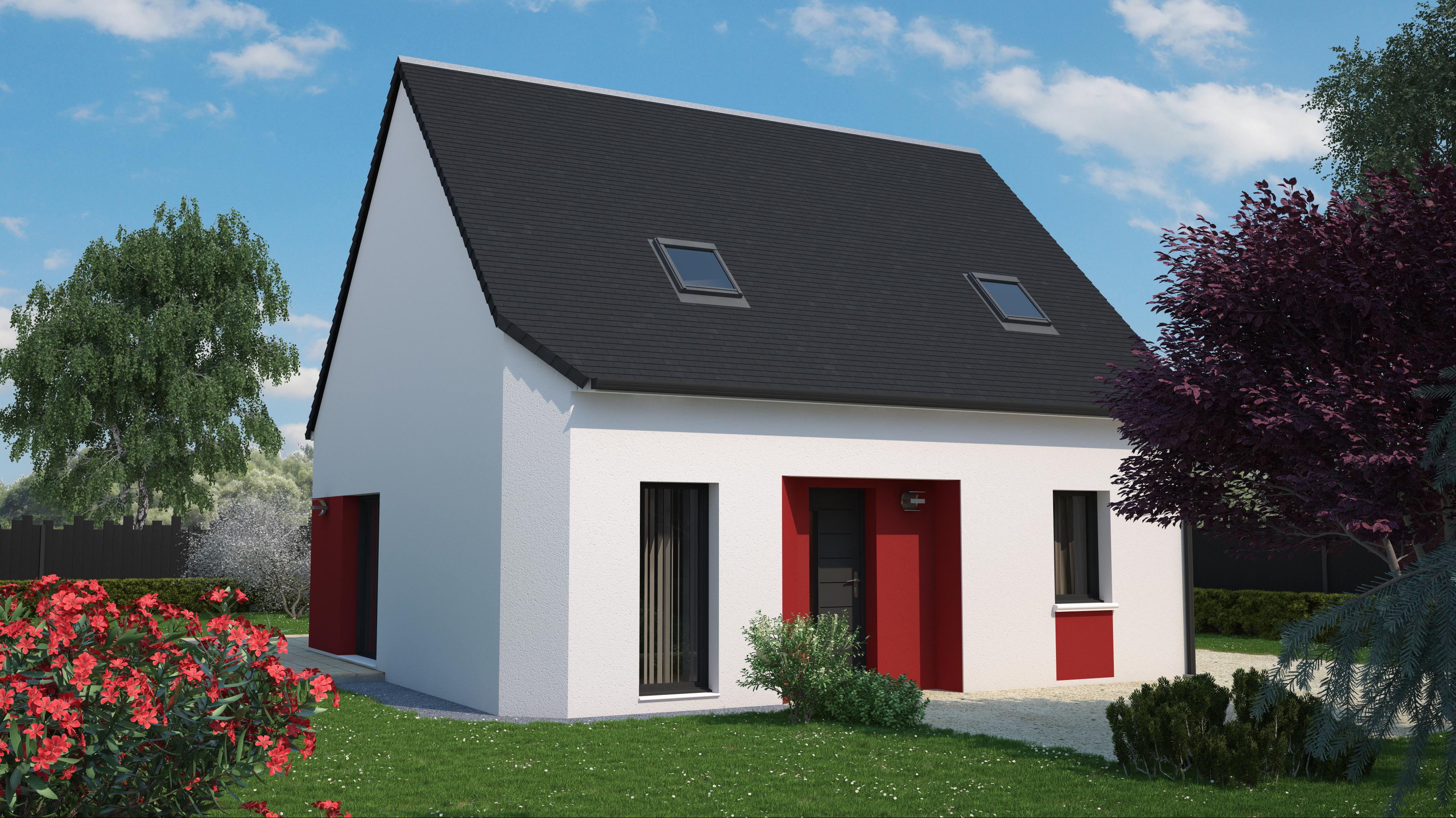 Maison 4 chambres de 94 m²