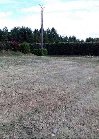 Terrain constructible à Céré-la-Ronde