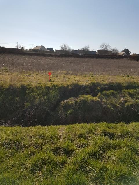 Terrain constructible à Tauxigny