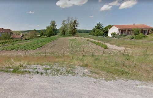 Terrain constructible à Bonneuil-Matours