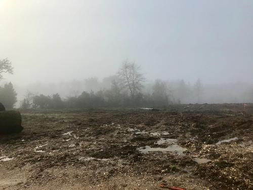 Terrain constructible à Croignon