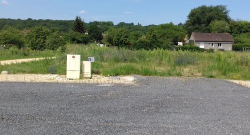 Terrain constructible à Chauvigny