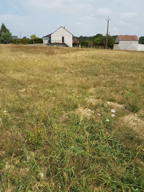 Terrain constructible à Croix-en-Touraine