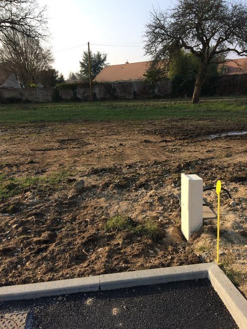Terrain constructible à Jouy-le-Potier