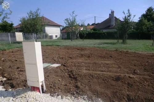 Terrain constructible à Biard