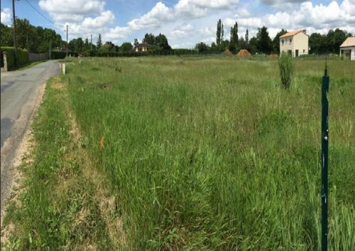 Terrain constructible à Poitiers