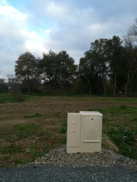 Terrain constructible à Boussay