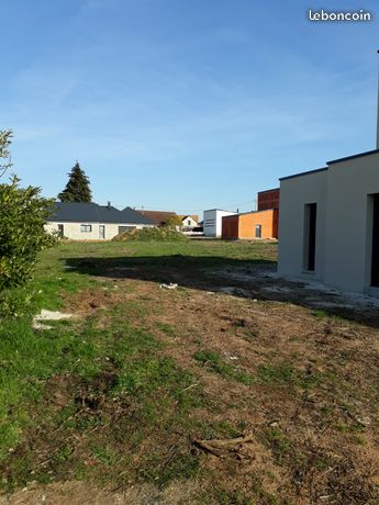 Terrain constructible à Moncé-en-Belin