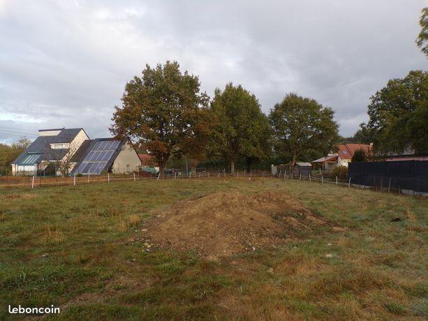 Terrain constructible à Saint-Gervais-en-Belin