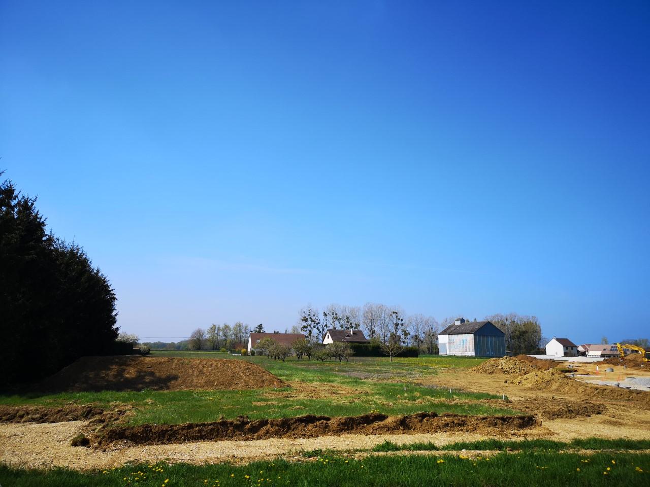 Terrain constructible à Thorey-en-Plaine