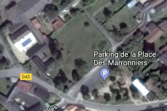 Capture Terrain de 950m² place des Marronniers ouzilly.JPG