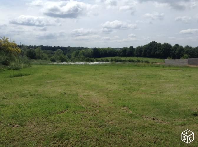 Terrain constructible à Vern-d'Anjou