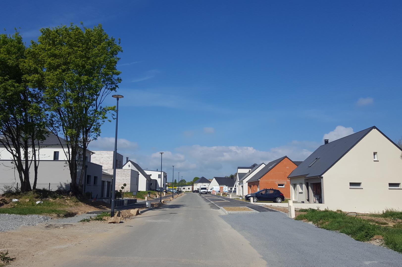Terrain constructible à Rouillon