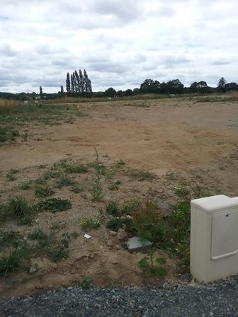 Terrain constructible à Frossay