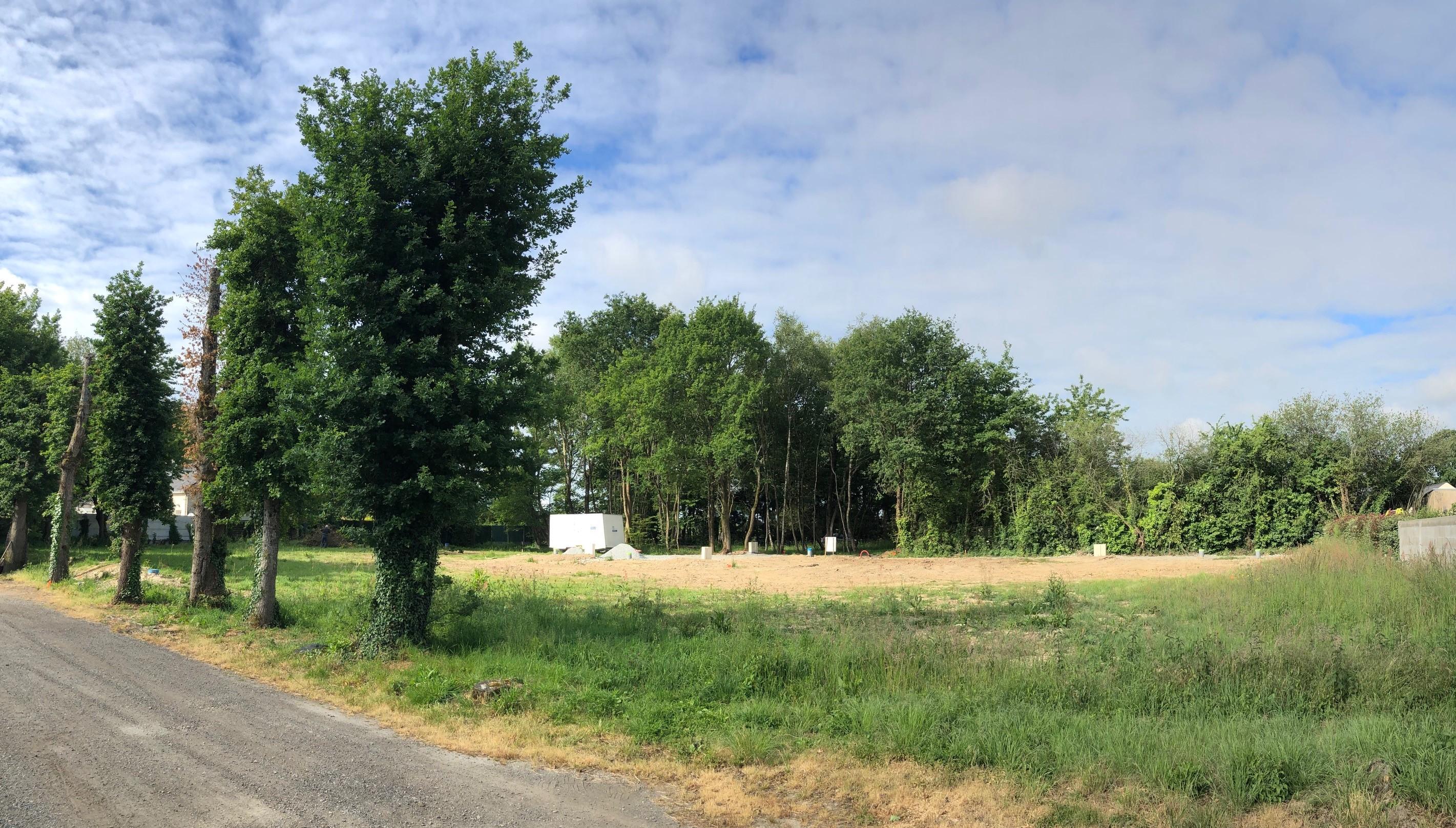 Terrain constructible à Treillières