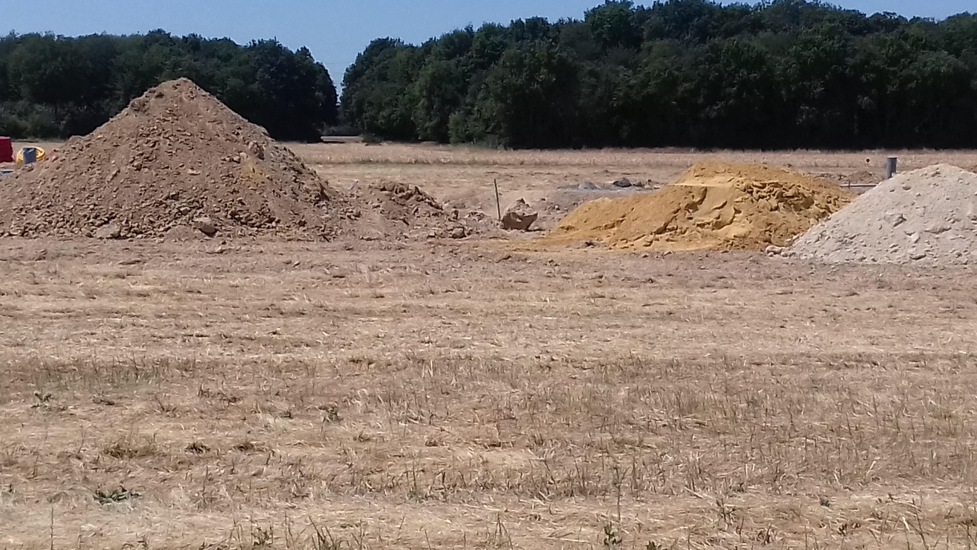 Terrain constructible à Rouziers-de-Touraine
