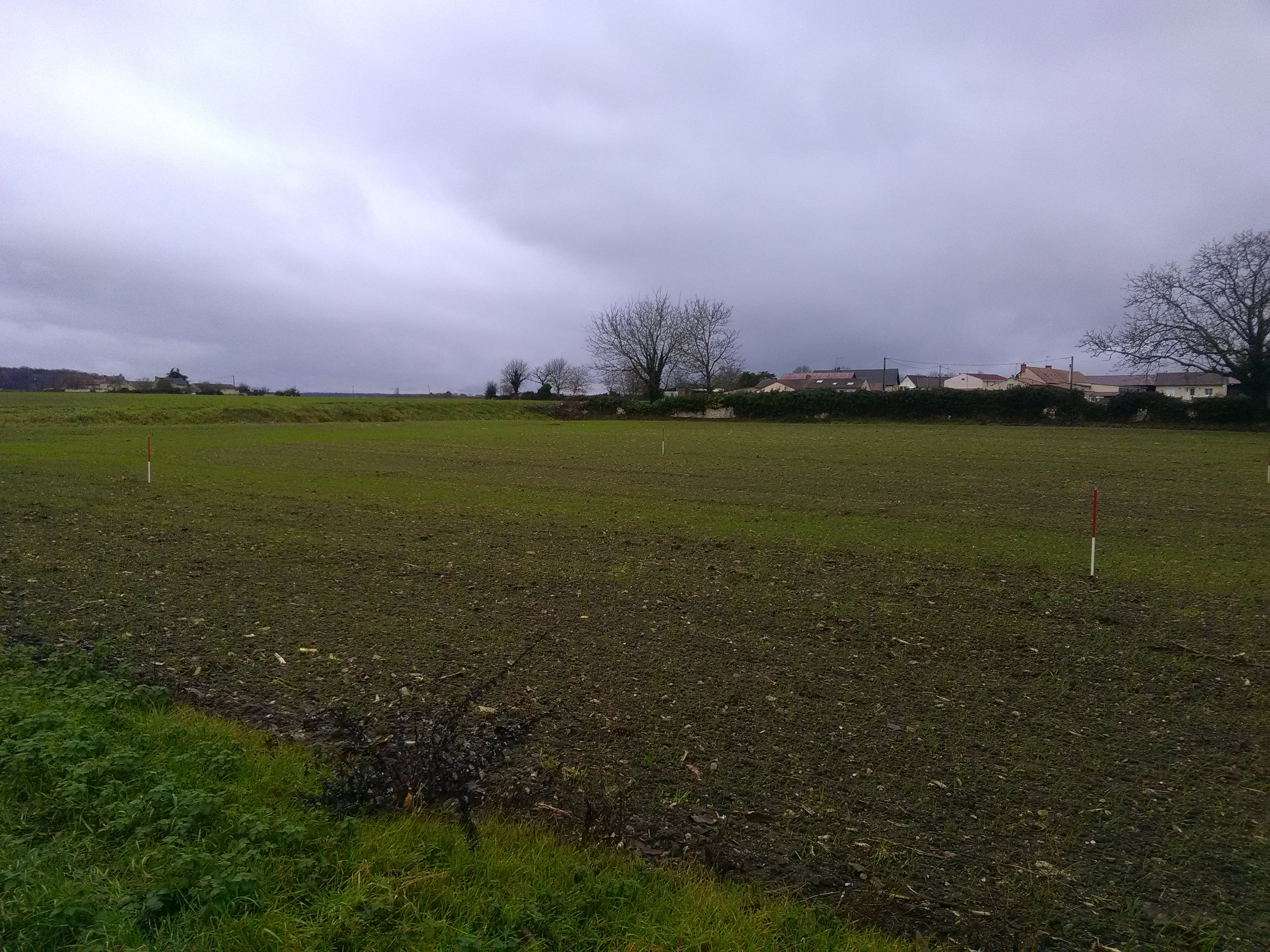 Terrain constructible à Availles-en-Châtellerault