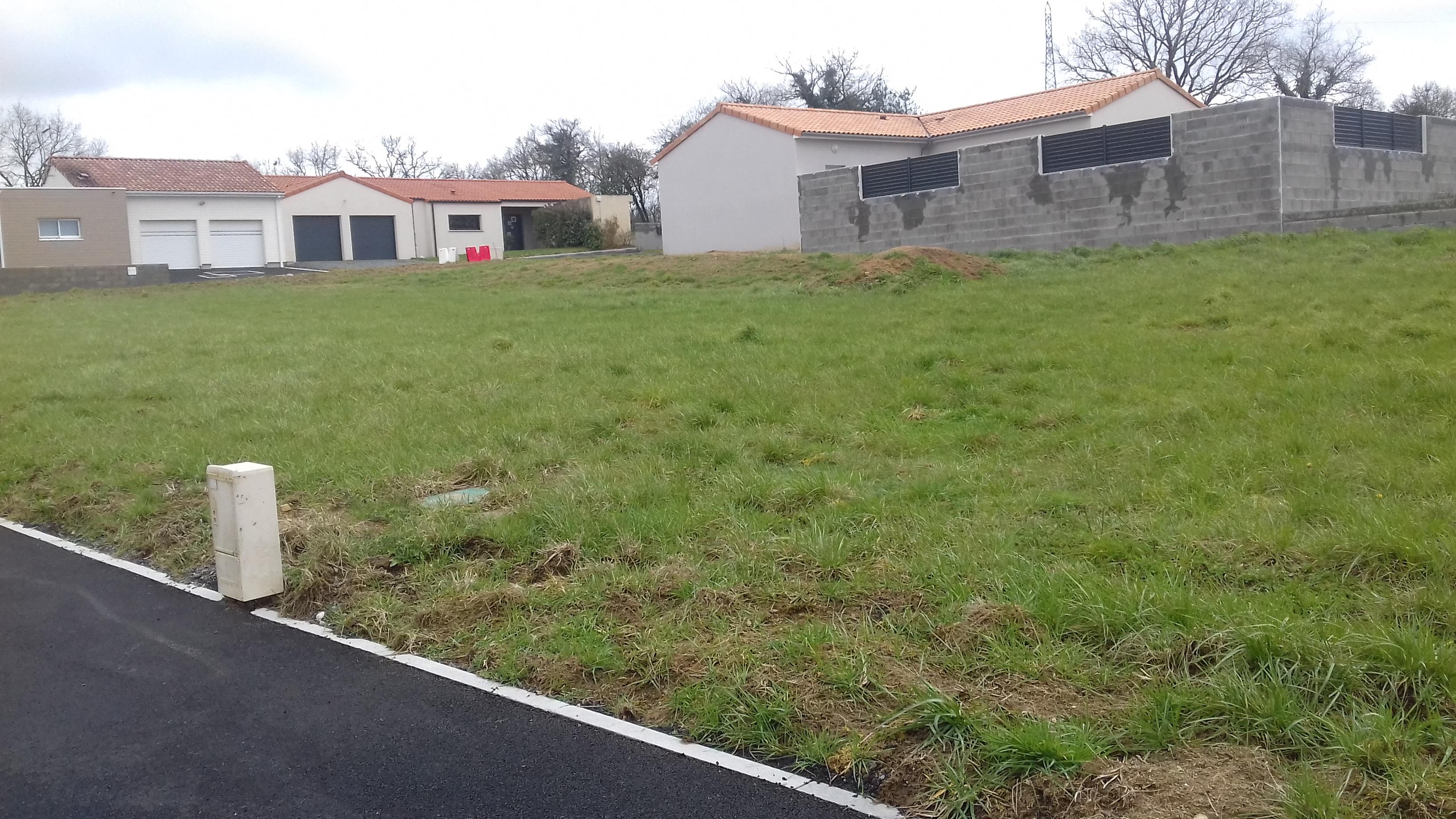 Terrain constructible à Gaubretière