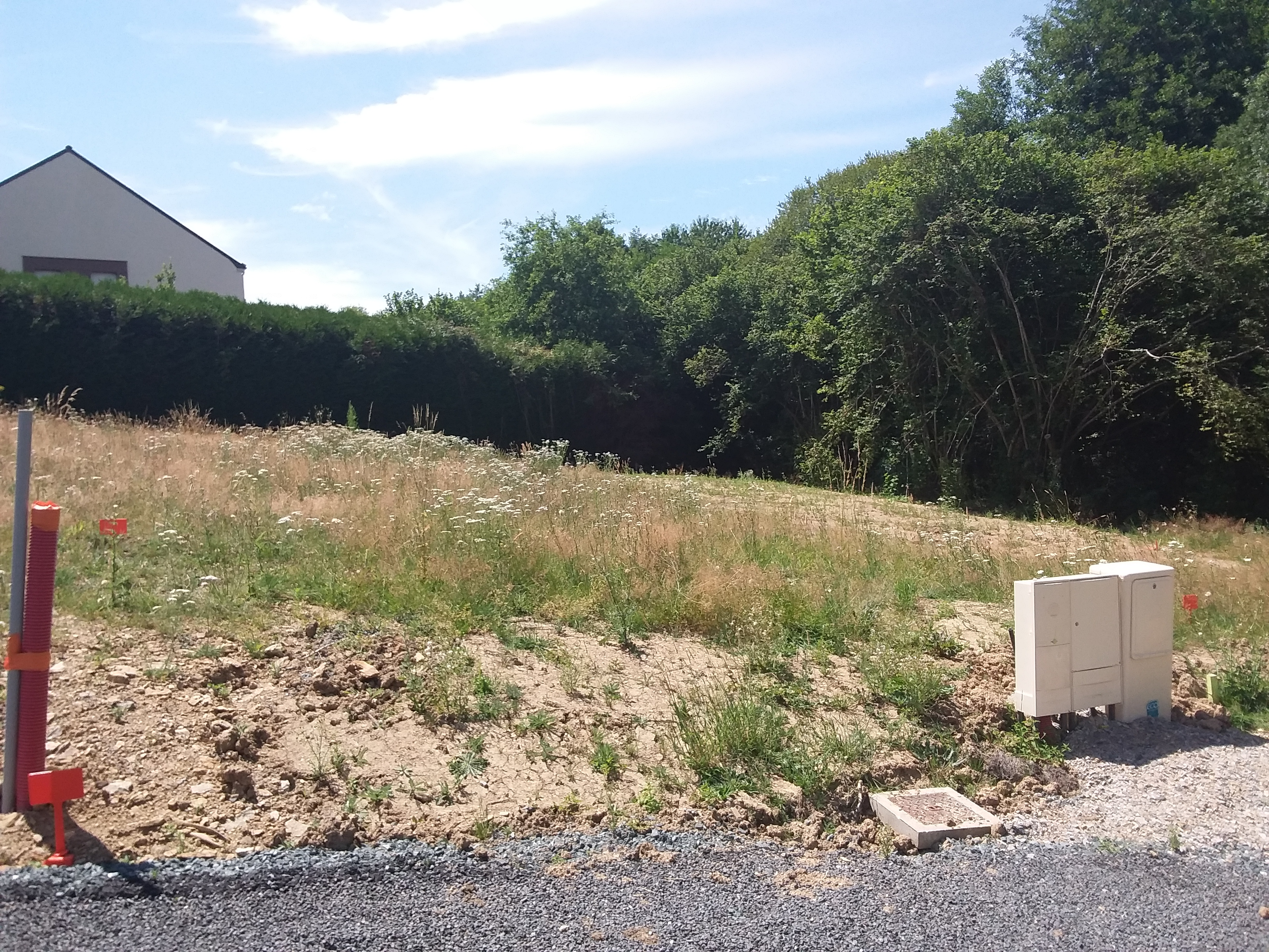 Terrain constructible à Vigneux-de-Bretagne