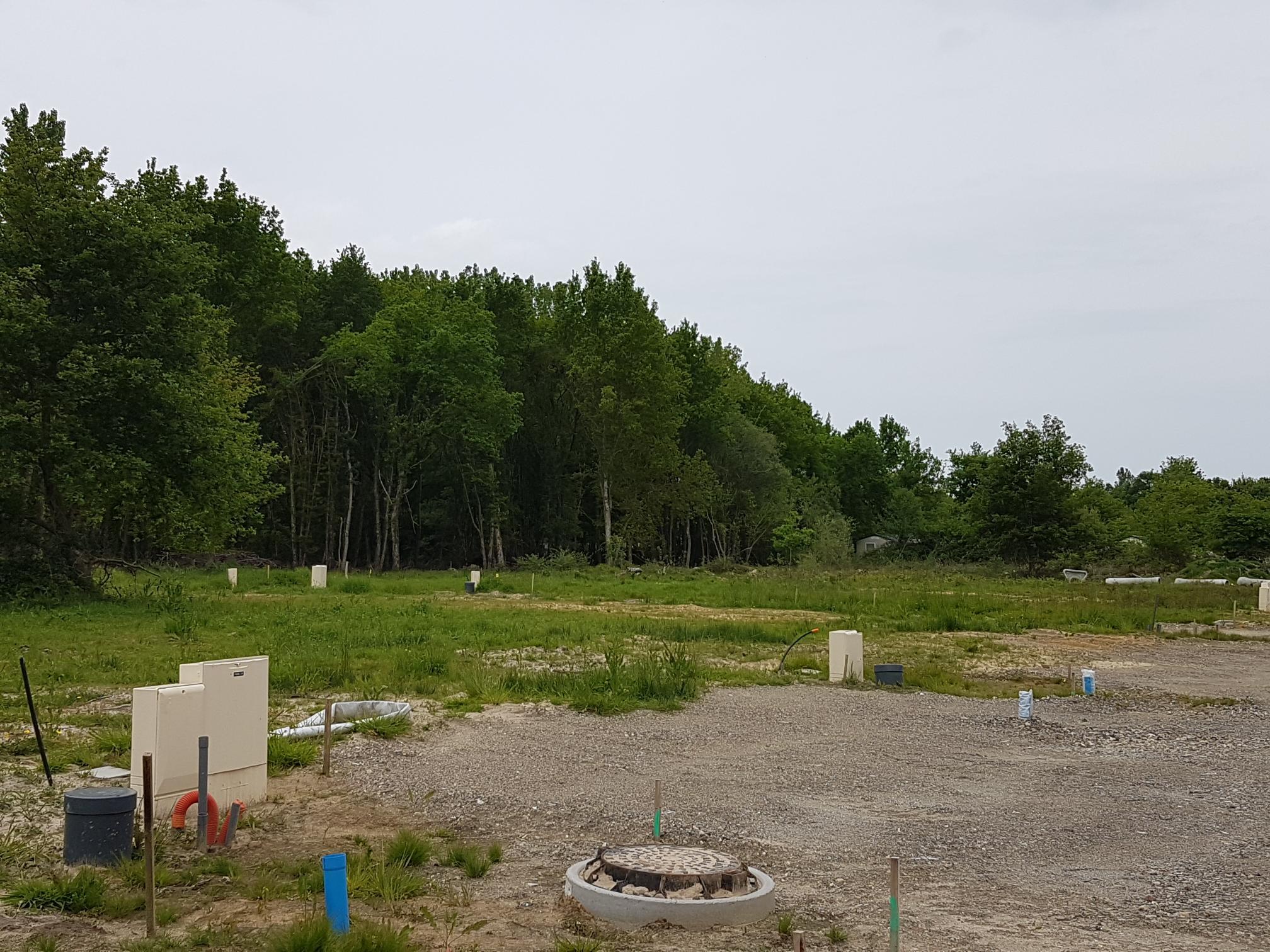 Terrain constructible à Aureilhan