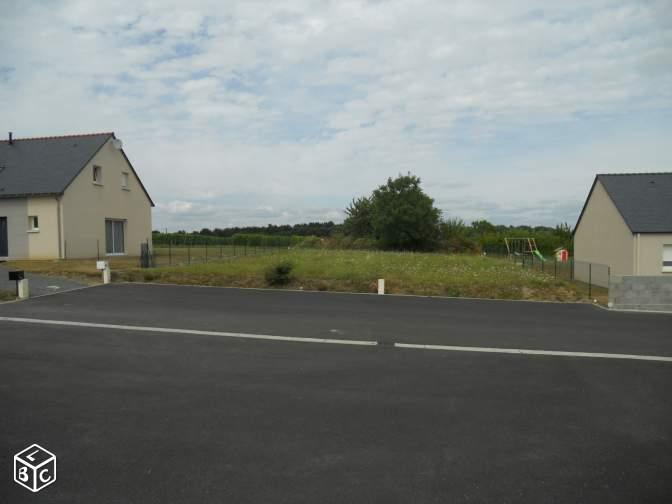 Terrain constructible à Champtocé-sur-Loire