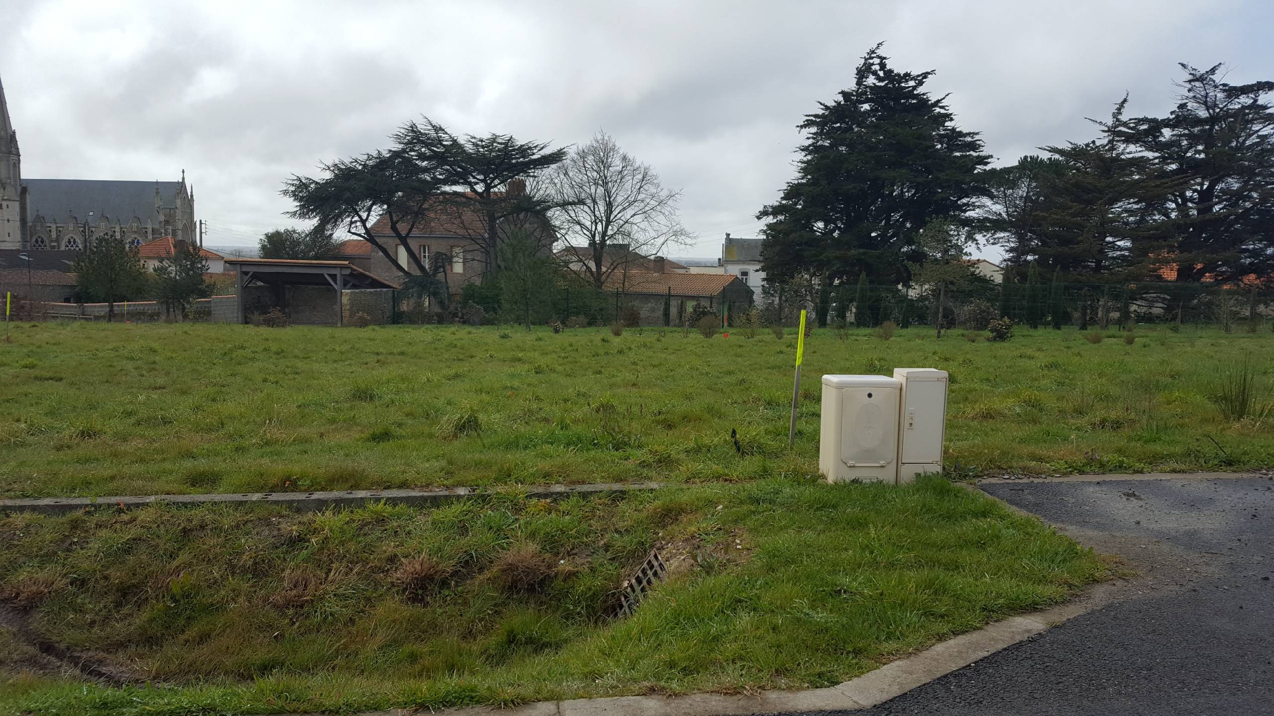Terrain constructible à Bourgneuf-en-Retz
