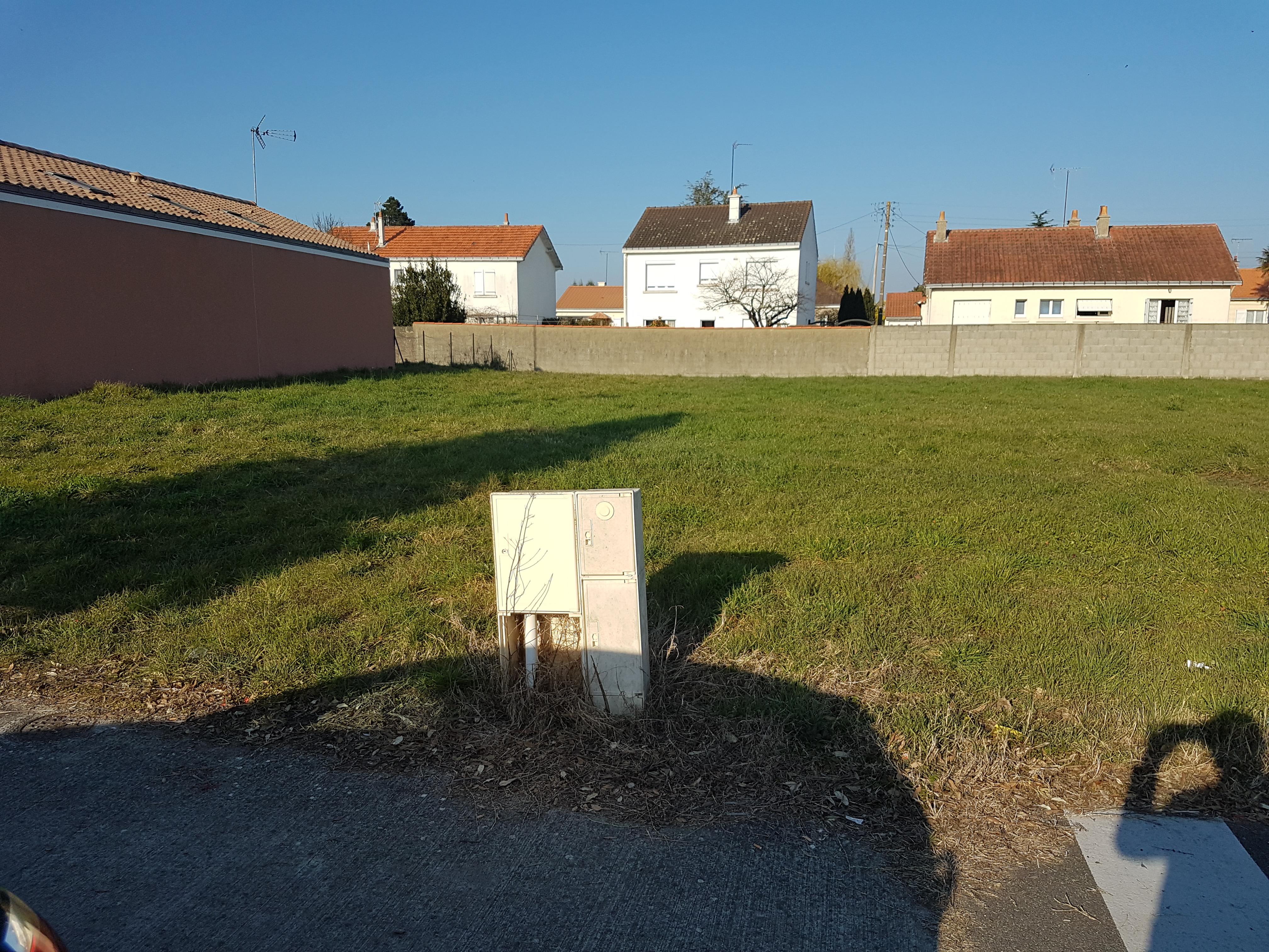 Terrain constructible à Paimbœuf