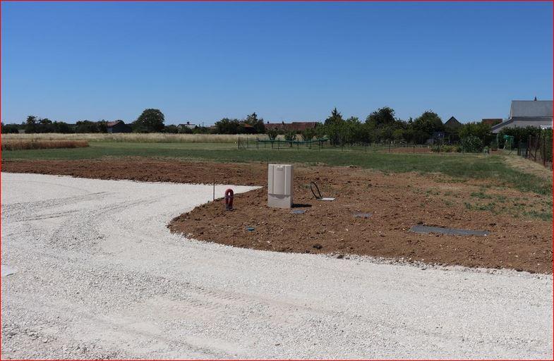 Terrain constructible à Chapelle-Vendômoise