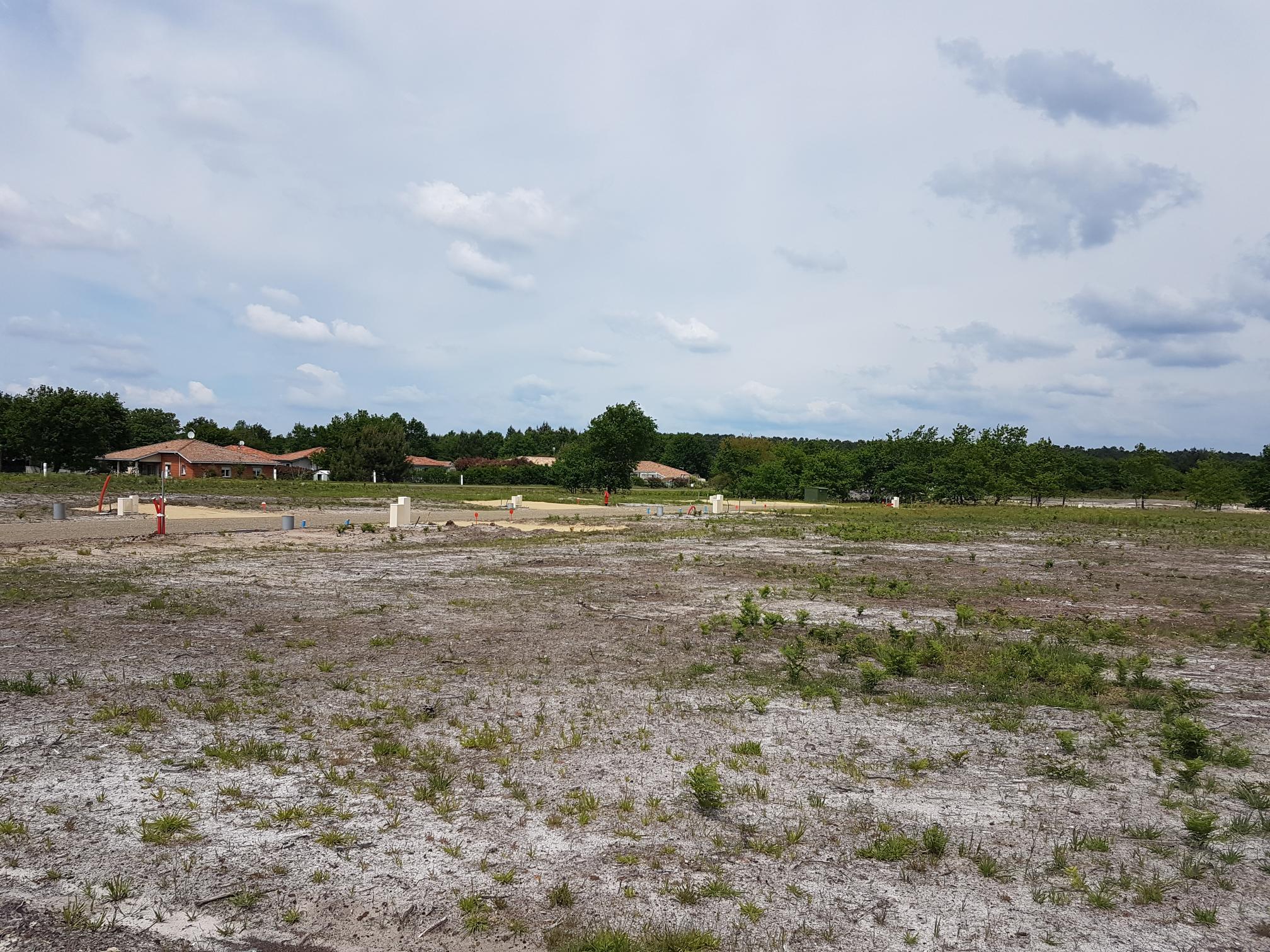 Terrain constructible à Salles