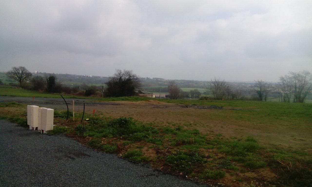 Terrain constructible à Saint-Lézin