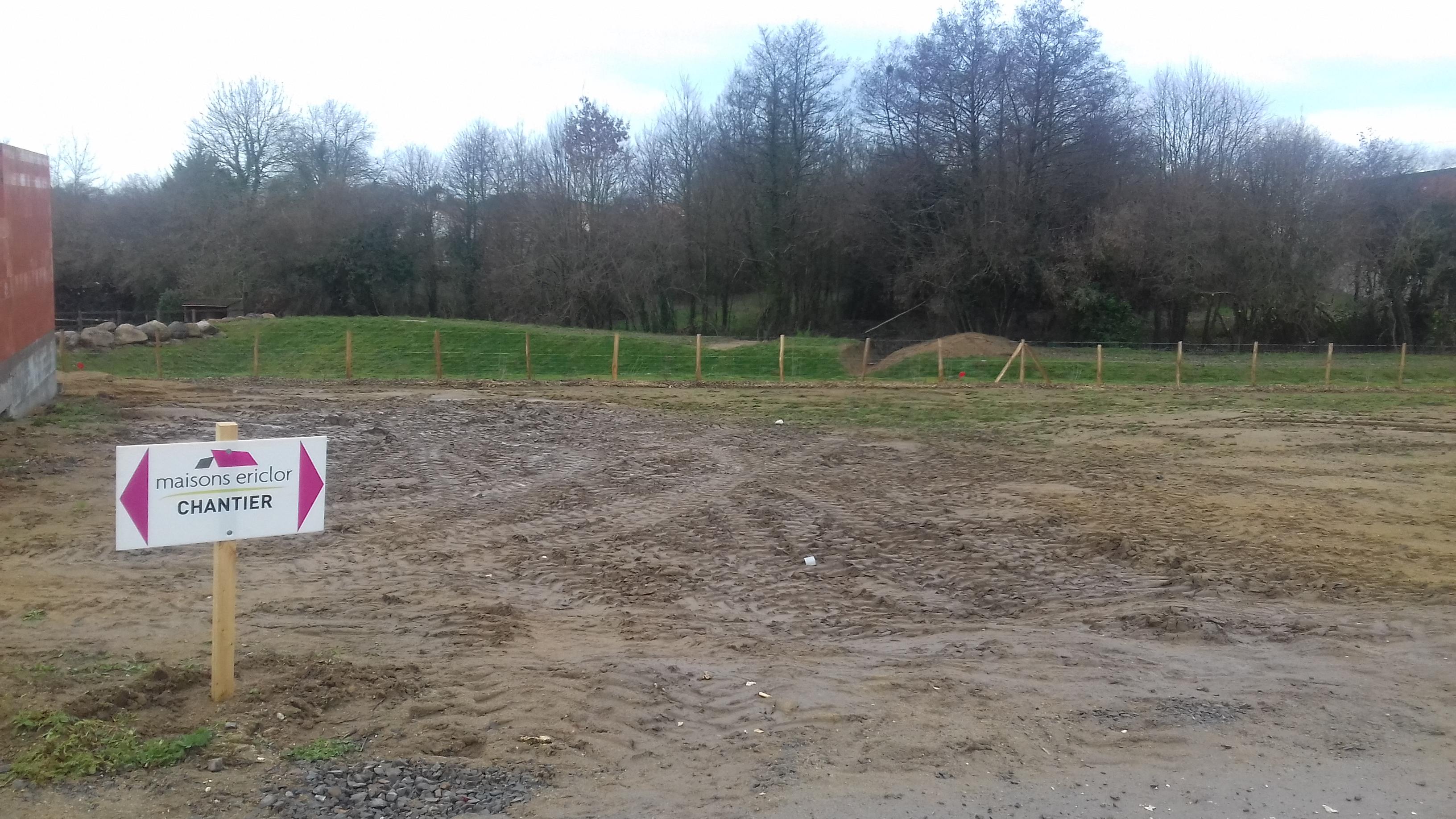 Terrain constructible à Cholet