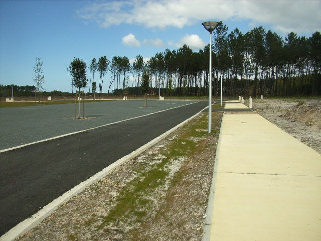 Terrain constructible à Linxe