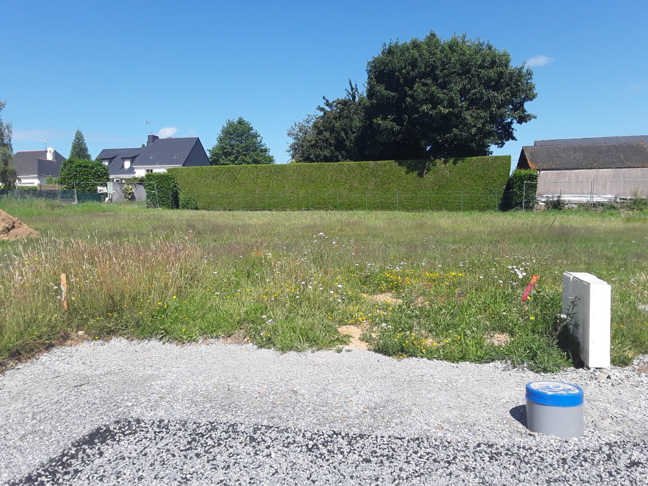 Terrain constructible à Camoël